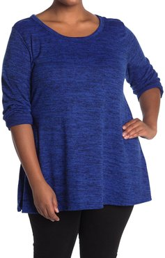 Forgotten Grace Long Sleeve Brushed Hacci Two-Tone Top at Nordstrom Rack