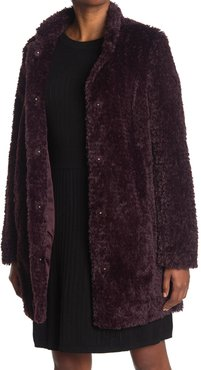 Kenneth Cole New York Shaggy Faux Fur Coat at Nordstrom Rack
