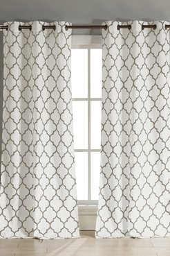 Duck River Textile Mason Grommet Pair Curtain - Set of 2 - Taupe at Nordstrom Rack