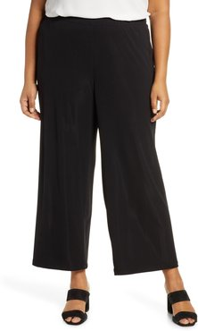 Plus Size Women's Lafayette 148 New York Riverside Matte Jersey Crop Pants