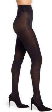 Plus Size Women's Nordstrom Opaque Control Top Tights