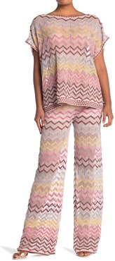M Missoni Chevron Striped Palazzo Pants at Nordstrom Rack