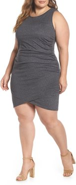 Plus Size Women's Leith Ruched Sheath Dress