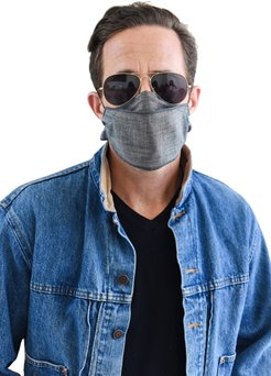 Adult Double Layer Mask Scarf