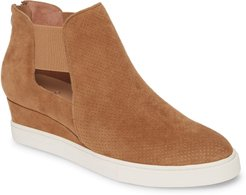 Amanda Slip-On Wedge Bootie