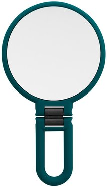 UPPER CANADA SOAPS Danielle Soft Touch Hand Held Foldable Mirror - Green at Nordstrom Rack