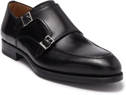 Magnanni Parlon Double Monk Strap Leather Loafer at Nordstrom Rack