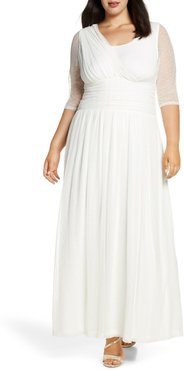 Plus Size Women's Kiyonna Meant To Be Chic Gown