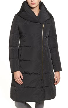 COLE HAAN SIGNATURE Hooded Down Puffer Coat at Nordstrom Rack
