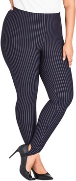 Plus Size Women's City Chic Simply Tailored Stirrup Pants