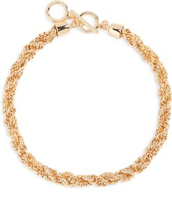 Halogen Twisted Chain Collar Necklace