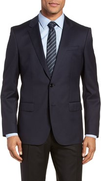 Hayes Cyl Slim Fit Solid Wool Sport Coat