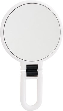 UPPER CANADA SOAPS Danielle Soft Touch Hand Held Foldable Mirror - White at Nordstrom Rack