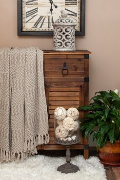 """Parkland Collection Alma Transitional Brown 52"""" x 67"""" Woven Handloom Throw at Nordstrom Rack"""
