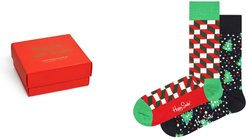 Assorted 2-Pack Holiday Socks Gift Box