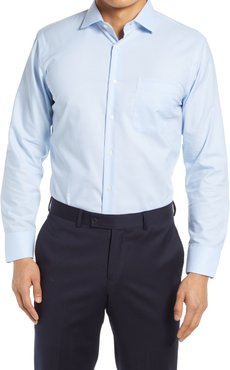 Big & Tall Nordstrom Trim Fit Non-Iron End On End Dress Shirt