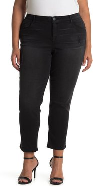 Democracy AB Tech Ankle Crop Distressed Jeans at Nordstrom Rack