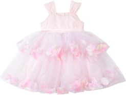 Girl's Pippa & Julie Tiered Petal & Tulle Party Dress