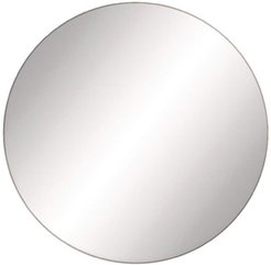 Willow Row Black/Reflective Modern Round Mirror at Nordstrom Rack