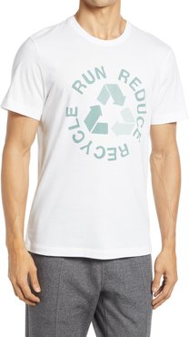 Run Reduce Recycle Men's Organic Cotton Graphic Tee
