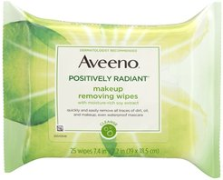 Aveeno Positively Radiant Makeup Removing Wipes at Nordstrom Rack