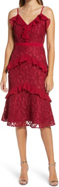 Enslie Embroidered Lace Dress