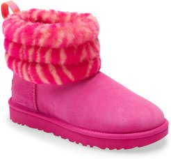 UGG Mini Fluff Quilted Animal Print Boot