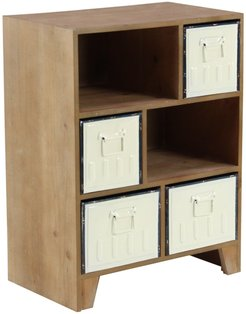 Willow Row Rustic 6-Drawer Rectangular Wooden Chest at Nordstrom Rack