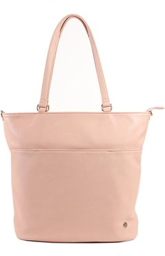 Infant Little Unicorn Citywalk Faux Leather Diaper Tote - Pink