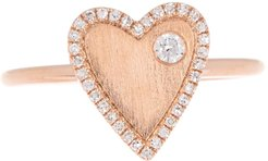 Ron Hami 14K Rose Gold Diamond Accent Heart Ring - 0.14 ctw - Size 7 at Nordstrom Rack