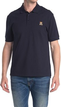 MOSCHINO Teddy Patch Knit Polo at Nordstrom Rack