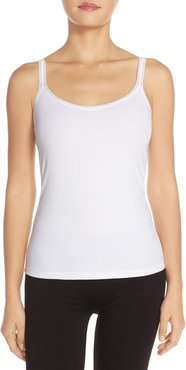Reversible Stretch Cotton Camisole