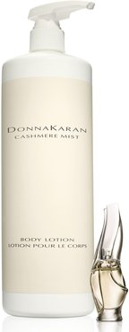 Donna Karan Cashmere Mist Jumbo Body Lotion & Travel Size Eau De Parfum ($283 Value), Size - One Size