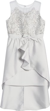 Girl's Blush By Us Angels High/low Dress