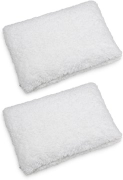 Rio Home White Super Soft Faux Shearling Pillow - Pack of 2 at Nordstrom Rack
