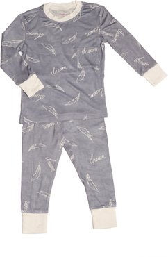 Infant Boy's Baby Grey By Everly Grey Emerson Fitted Two-Piece Pajamas