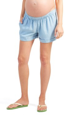 Ingrid & Isabel Under Belly Elastic Waist Shorts