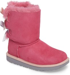 Toddler Girl's UGG Bailey Bow Ii Water Resistant Genuine Shearling Boot
