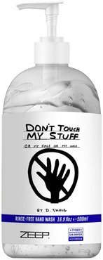 X Zeep Don'T Touch My Stuff Rinse-Free Hand Wash