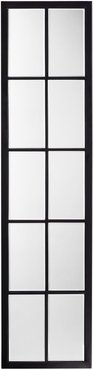 Jamie Young Linear Metal Grid Mirror with Paned Beveled Glass at Nordstrom Rack