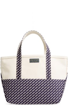 Boat & Tote High Bottom Canvas Tote - Blue