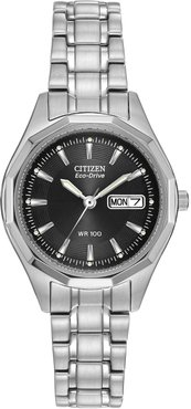 Citizen Women's Eco-Drive Stainless Steel Sport Watch, 26mm at Nordstrom Rack