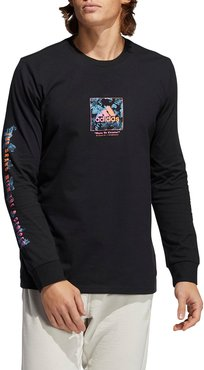 Floral Long Sleeve Graphic Tee