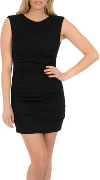Ruched Sleeveless Body-Con Minidress
