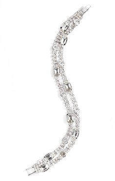 Crystal Two-Strand Bracelet