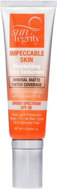 Impeccable Skin Moisturizing Face Sunscreen