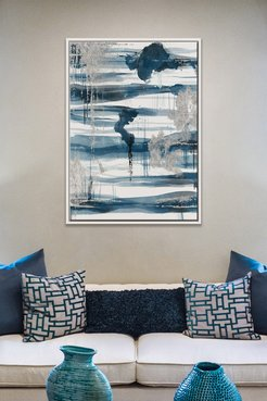 PTM Images Calm Waters-Medium Floater Framed Canvas at Nordstrom Rack