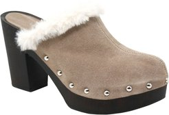 Limited Faux Fur Clog
