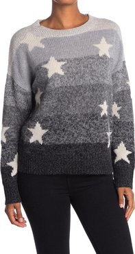 360 Cashmere Thena Star Print Cashmere Sweater at Nordstrom Rack