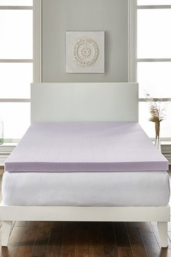 """Rio Home King Loftworks 2"""" Lavender infused Deep Sleep Therapy Extra Soft Mattress Foam Mattress Topper at Nordstrom Rack"""